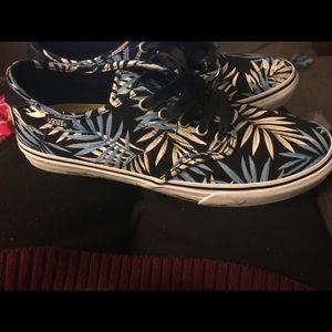 Vans Shoes - Hawaiian Vans girls size 11